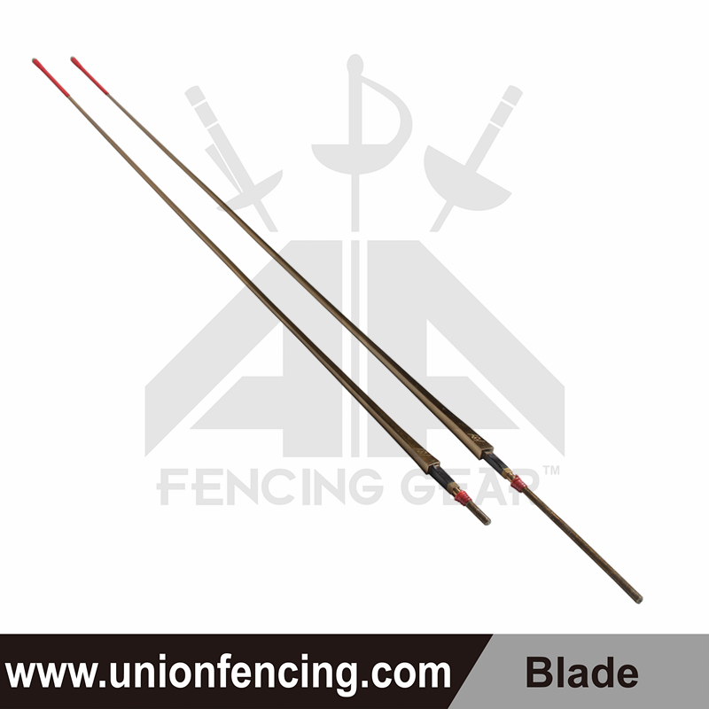 Union Fencing Foil Wired Blade with Point(Gold)