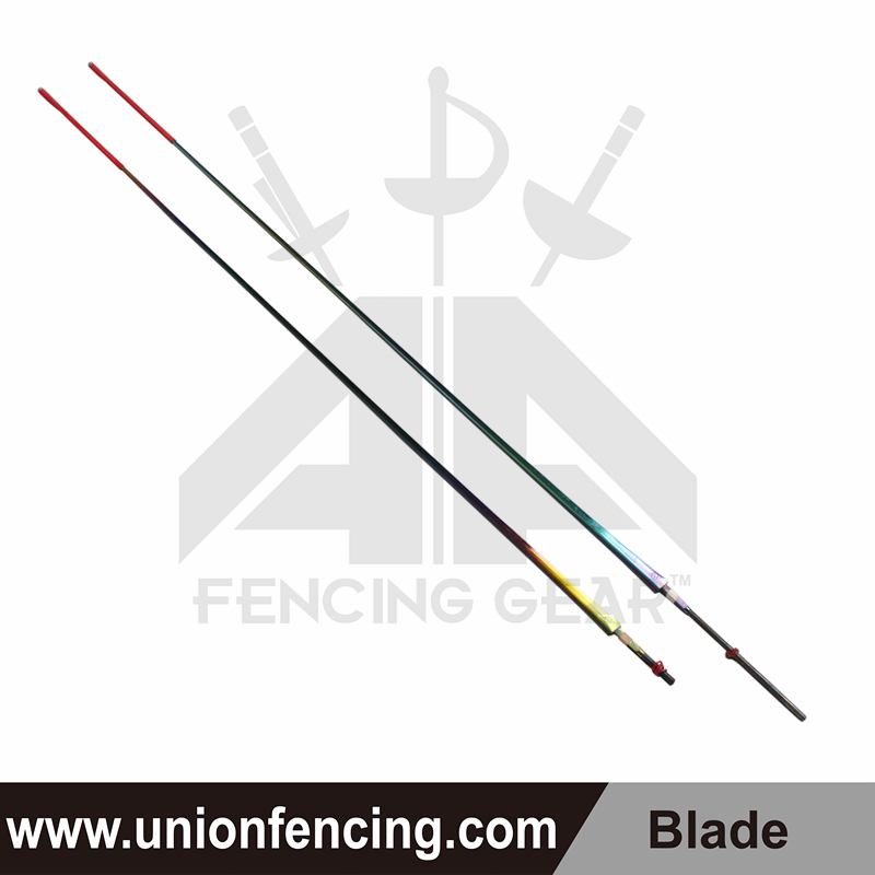 Union Fencing Foil Wired Blade with Point(Colorful)