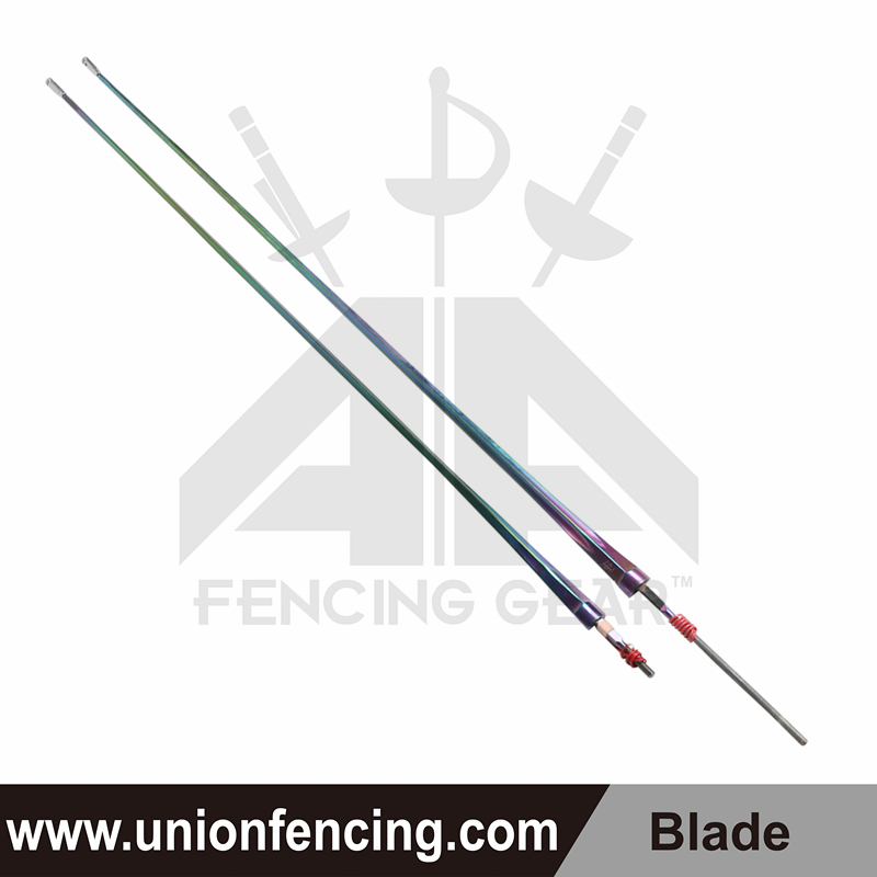 Union Fencing Epee Wired Blade with Point(Colorful)