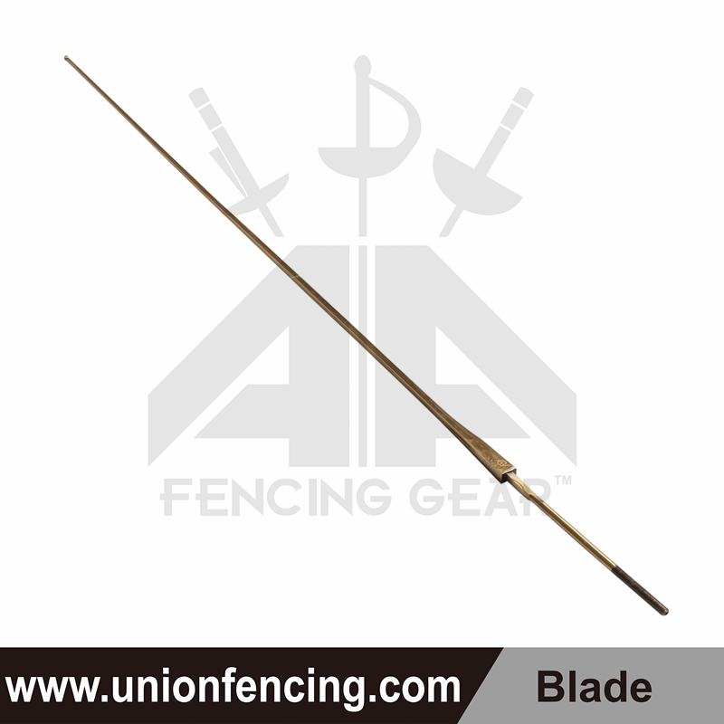 Union Fencing Sabre Wired Blade with Point(Gold)