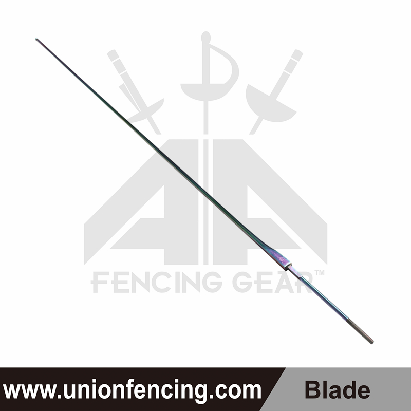 Union Fencing Sabre Wired Blade with Point(Colorful)