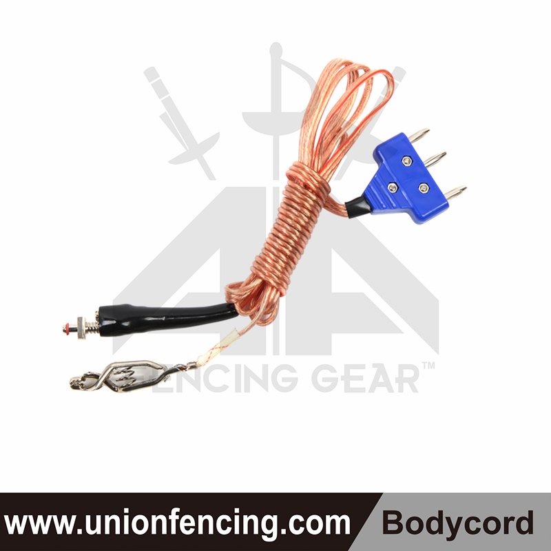 Union Fencing Bayonet Body Cord (clear wire)