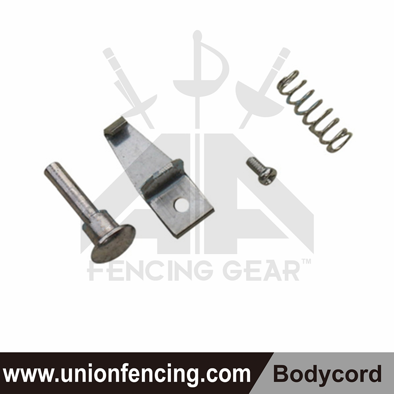 Union Fencing Retaining clip of two-pin plug