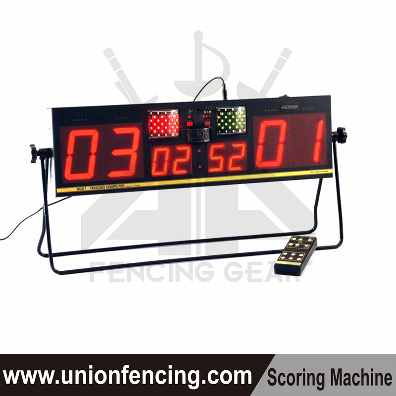 SG21 Scoring machine for fencing sports